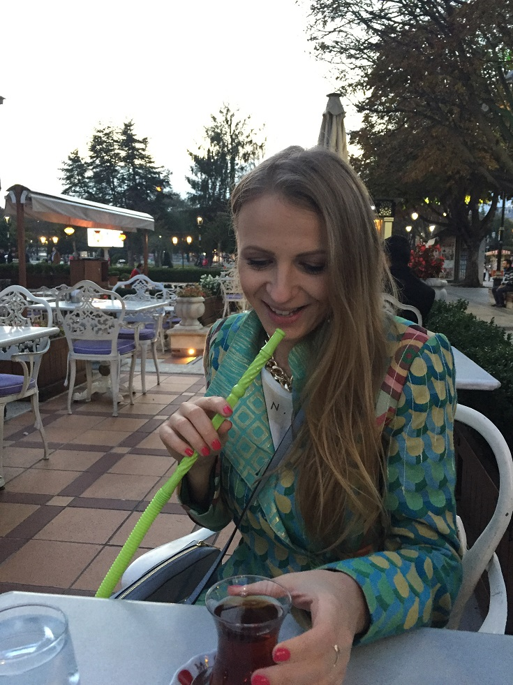 all you need is Turkish tea and hookah! Grape mint for me, please!
