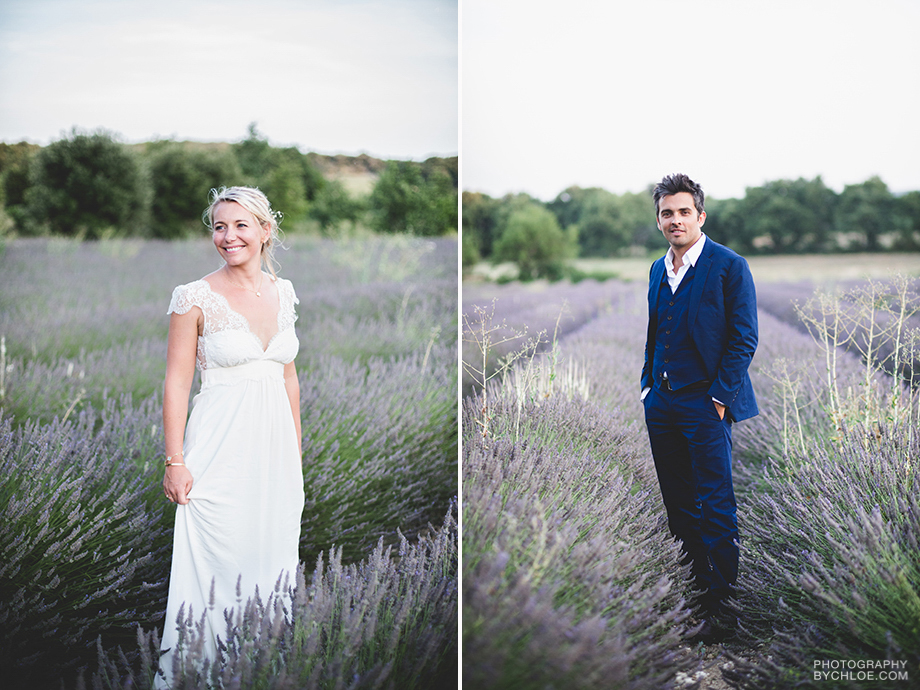 New Orleans Wedding Planners go to France-lavender fields