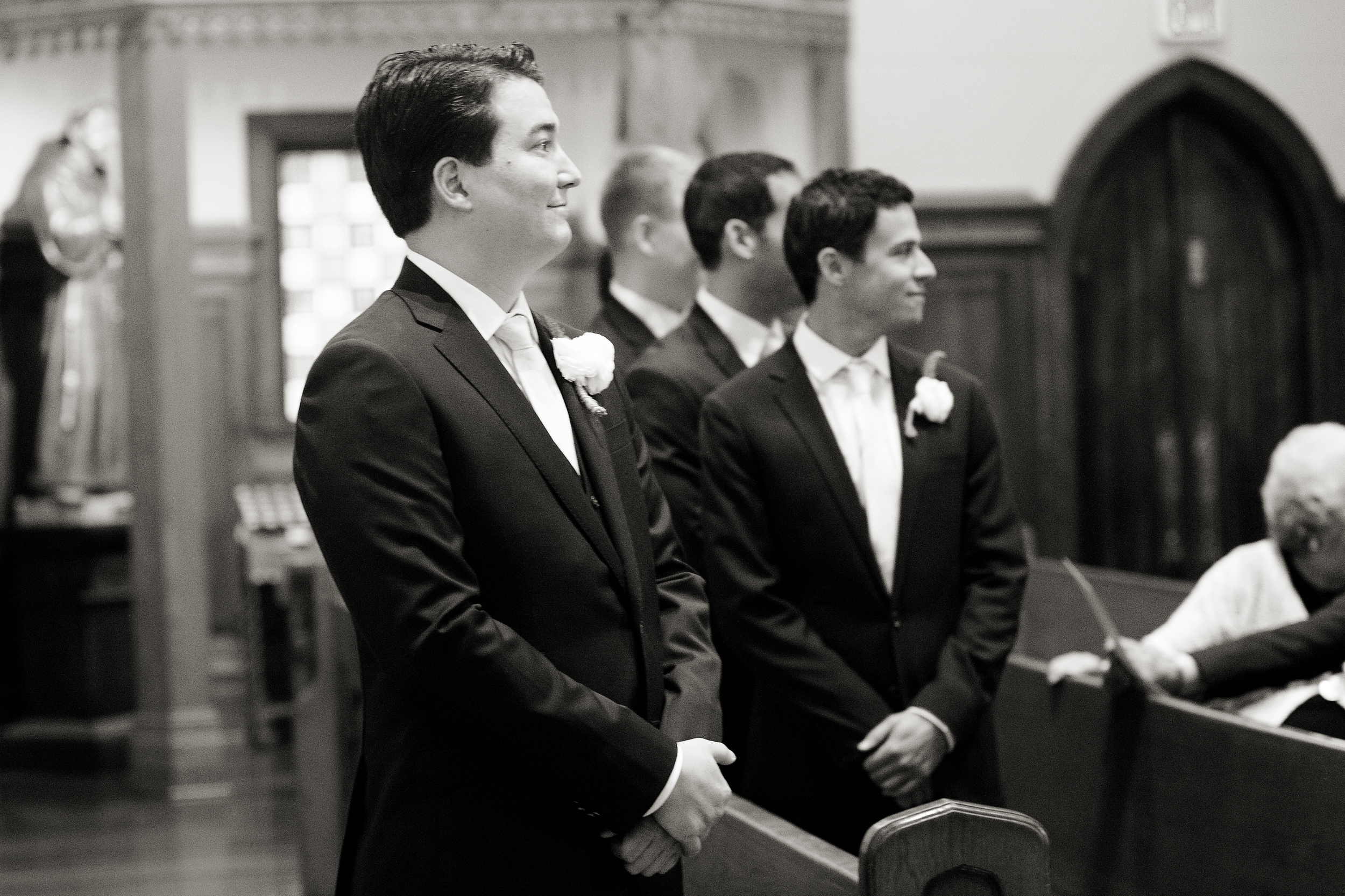Photo by Brenna Larson Photography, taken at my wedding while I walked down the aisle!