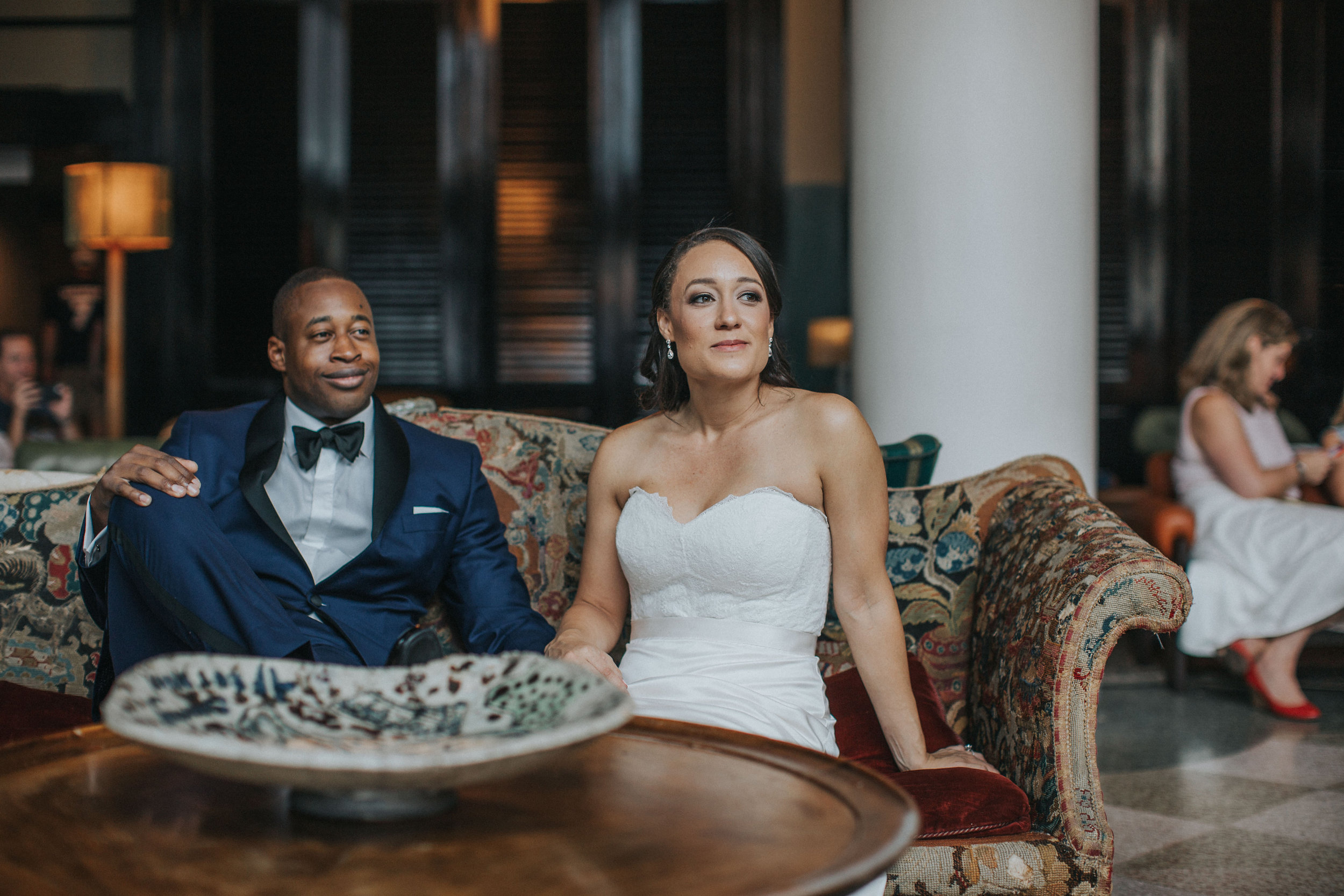 Wedding Prep Ace Hotel New Orleans Ashley & Kahlil