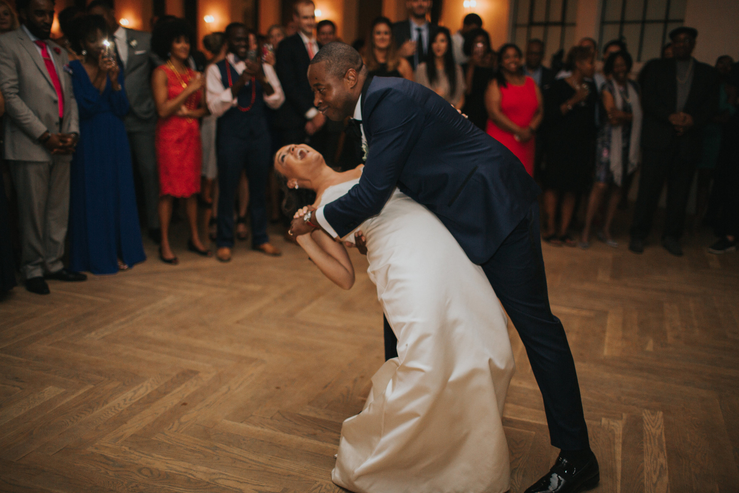First Dance New Orleans Wedding Reception