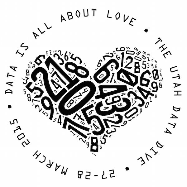 Utah Data Dive 2015 - Love Logo (600 x 600)