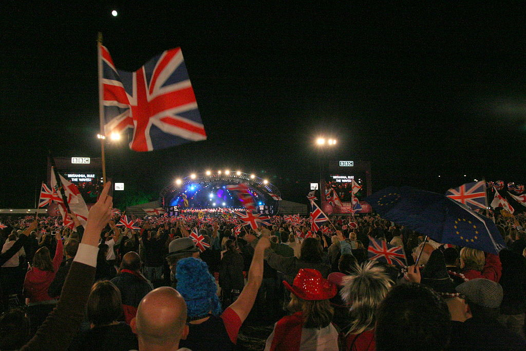 Proms in the Park at Hyde Park, London. Image Credit:  Neil Rickards  via  Flickr   cc