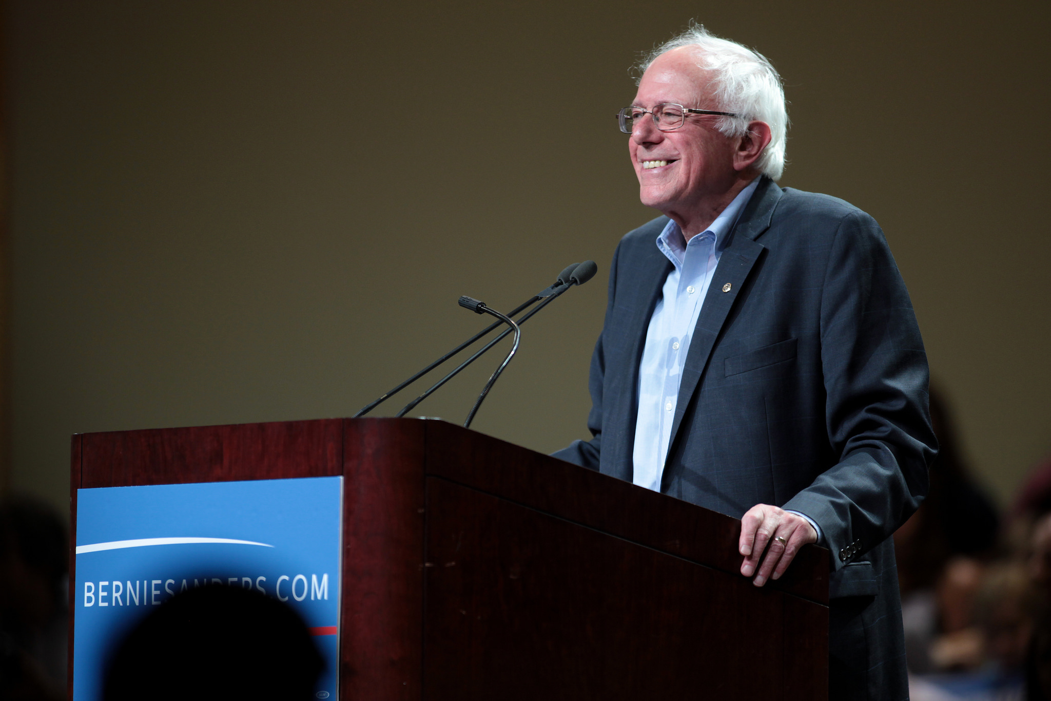 "Hillary Clinton has been feeling the ""bern"" because independent Vermont Senator Bernie Sanders has electrified that left wing of the Democratic Party in his run for the presidential nomination. Image Credit:  Gage Skidmore  via  Flickr   cc"