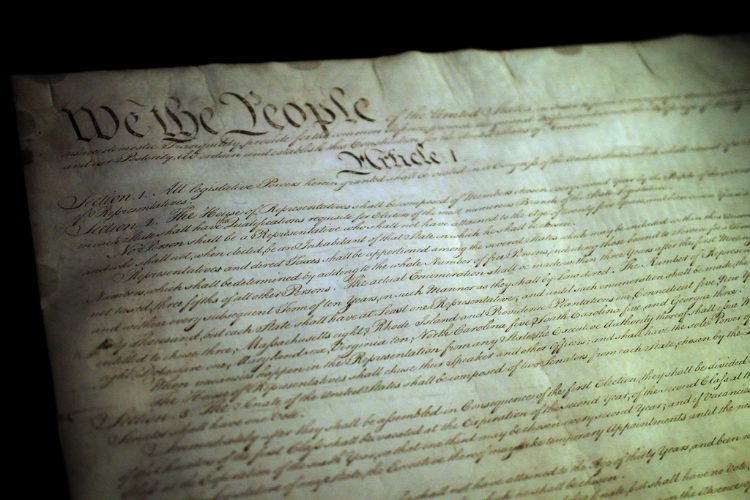 The US Constitution features a steep process for amending it. Image Credit:  Mr.TinDC  via  Flickr   CC