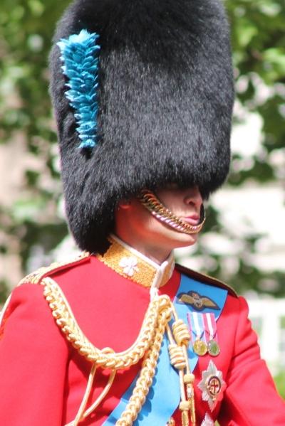 HRH The Duke of Cambridge and Baron Carrickfergus, Colonel of the Irish Guards. Image Credit:  Carfax2  via  Wikimedia Commons   cc