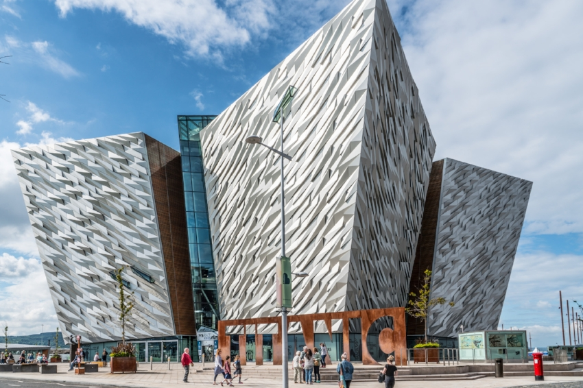Titanic Belfast - the world's largest attraction dedicated to the ill-fated ocean liner. Image Credit:  William Murphy  via  Flickr   CC