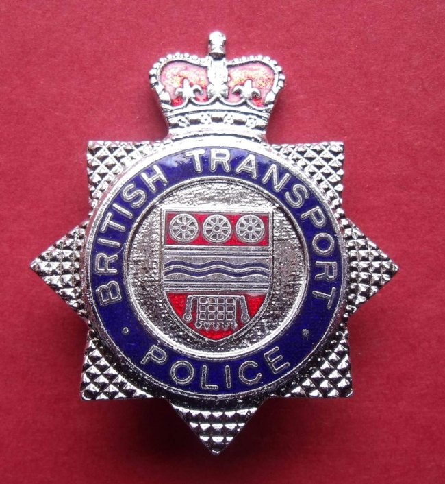 BTP badge from Dave Connor's Scottish Law Enforcement Insignia Collection. Image Credit:  Dave Connor  via  Flickr   CC