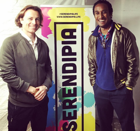 Guest Speaker at Serendipia.Life - Talked alongside filmmaker Ezra J. Stanley at the Serendipia.Life Social Entrepreneurship Collective in San Francisco's historic North Beach on the subject of putting Love in Life and Love into Art!