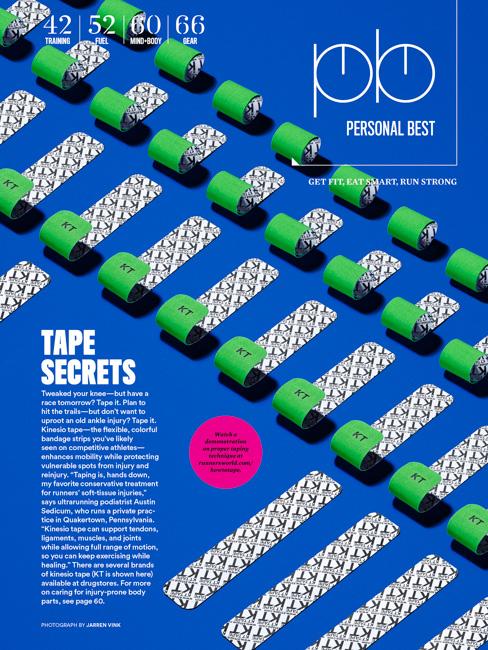 jarren vink runner's world kt tape
