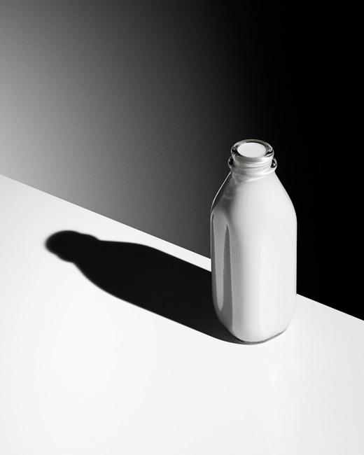 jarren vink milk drink still life black and white