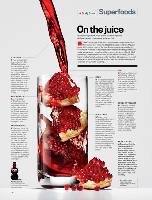 jarren vink men's fitness pomegranate drink still life