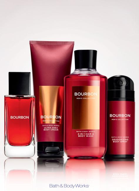 jarren vink bath & body works bourbon men's collection fragrance