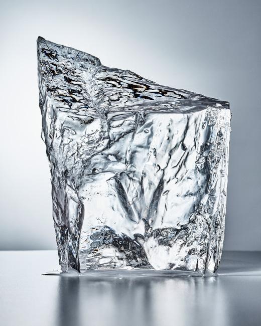jarren vink ice sculpture glacier still life