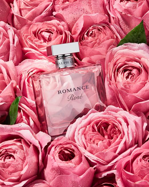 jarren vink ralph lauren romance rosé fragrance