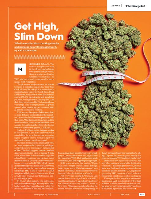 jarren vink men's journal marijuana cannabis diet weed