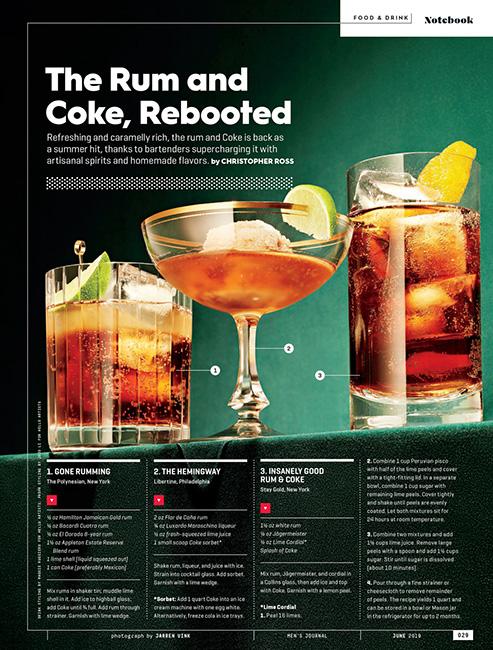 jarren vink men's journal rum and coke
