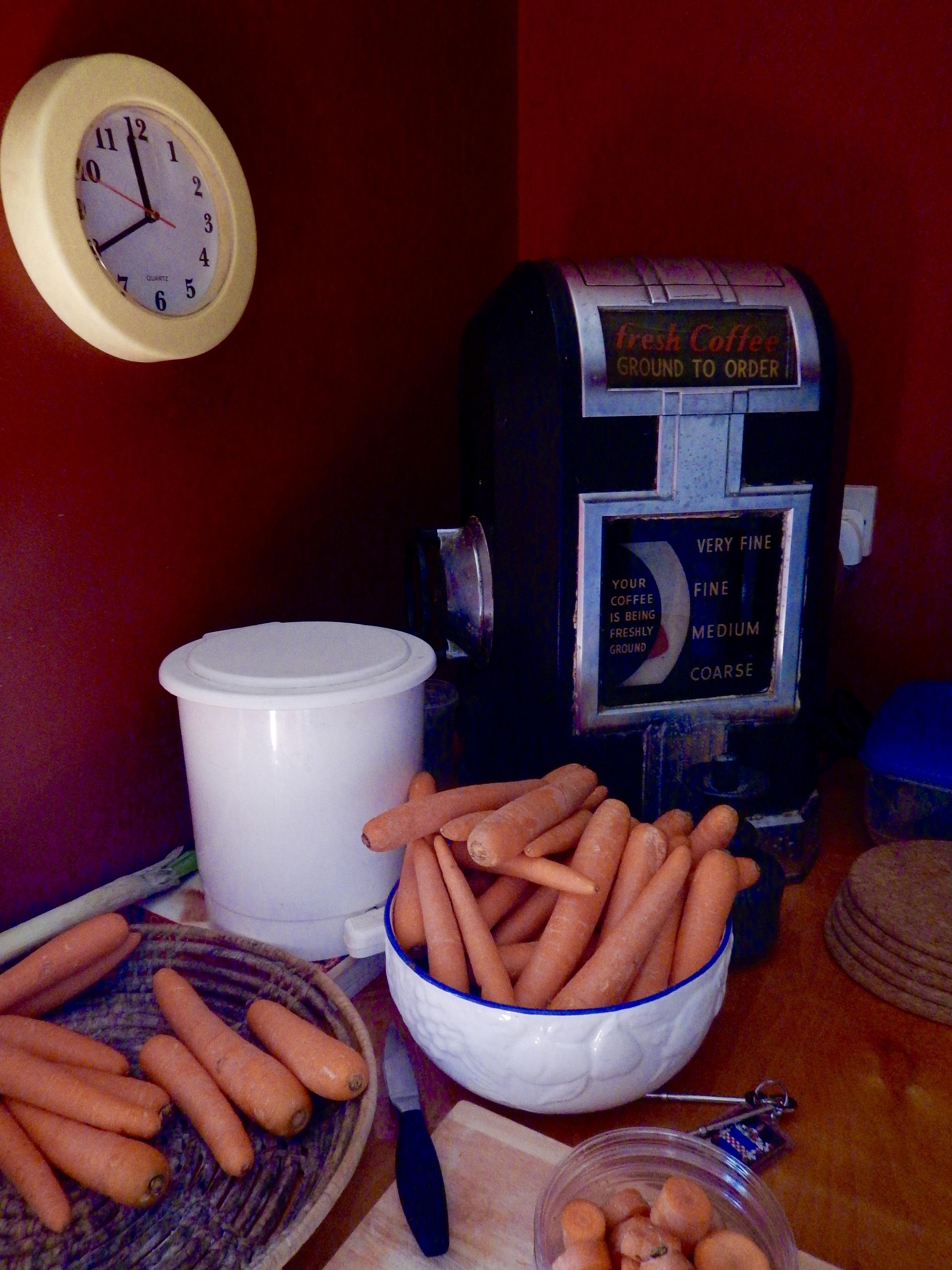 Anna's carrots.