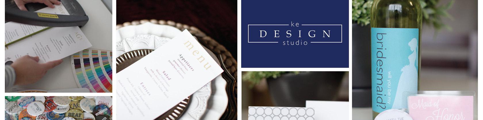 KE Design Studio Etsy Shop Banner