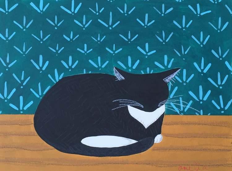 Cat Nap by Amelia Roche Roland