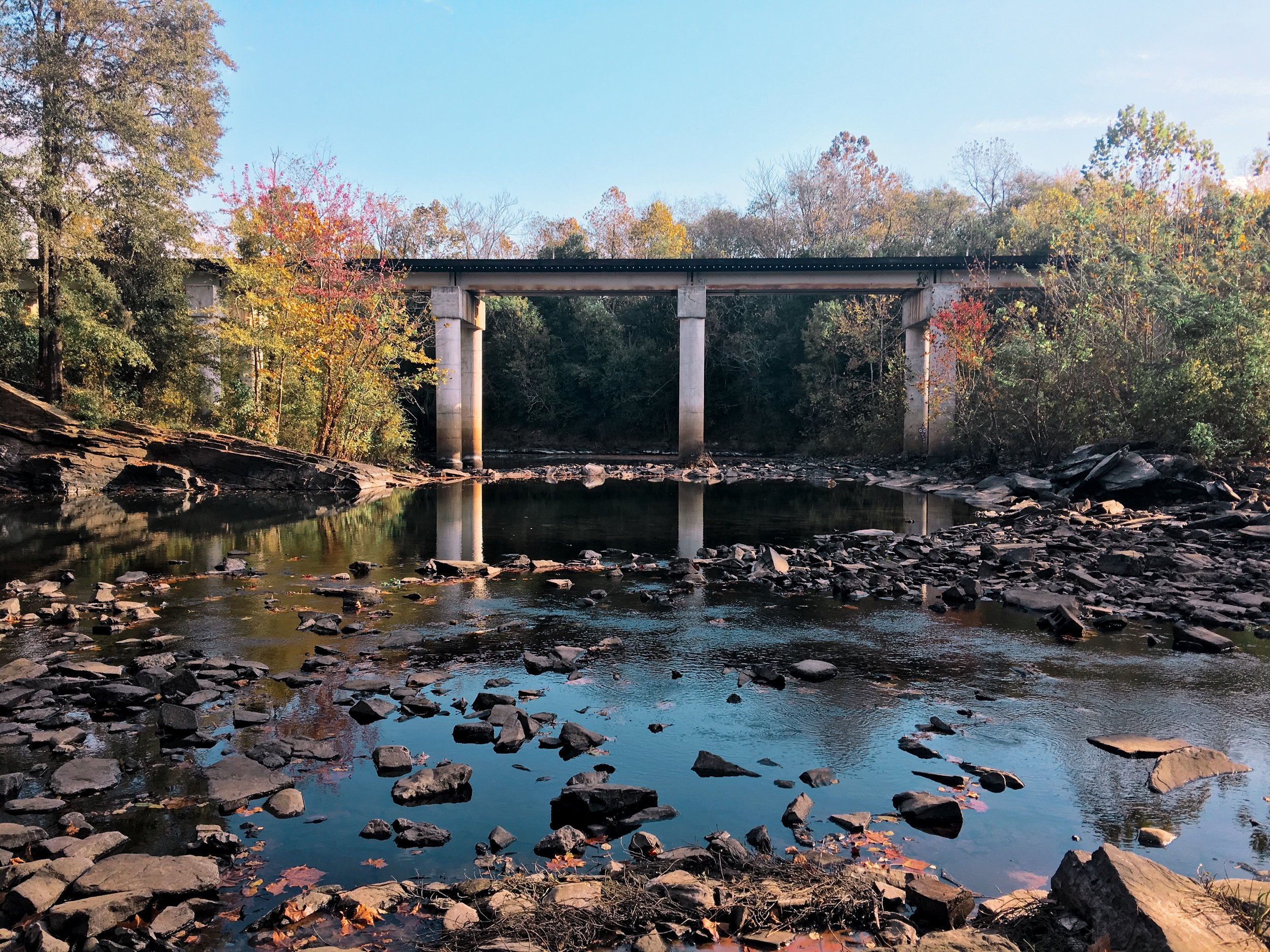 Rae's Creek Aqueduct in Augusta, Georgia