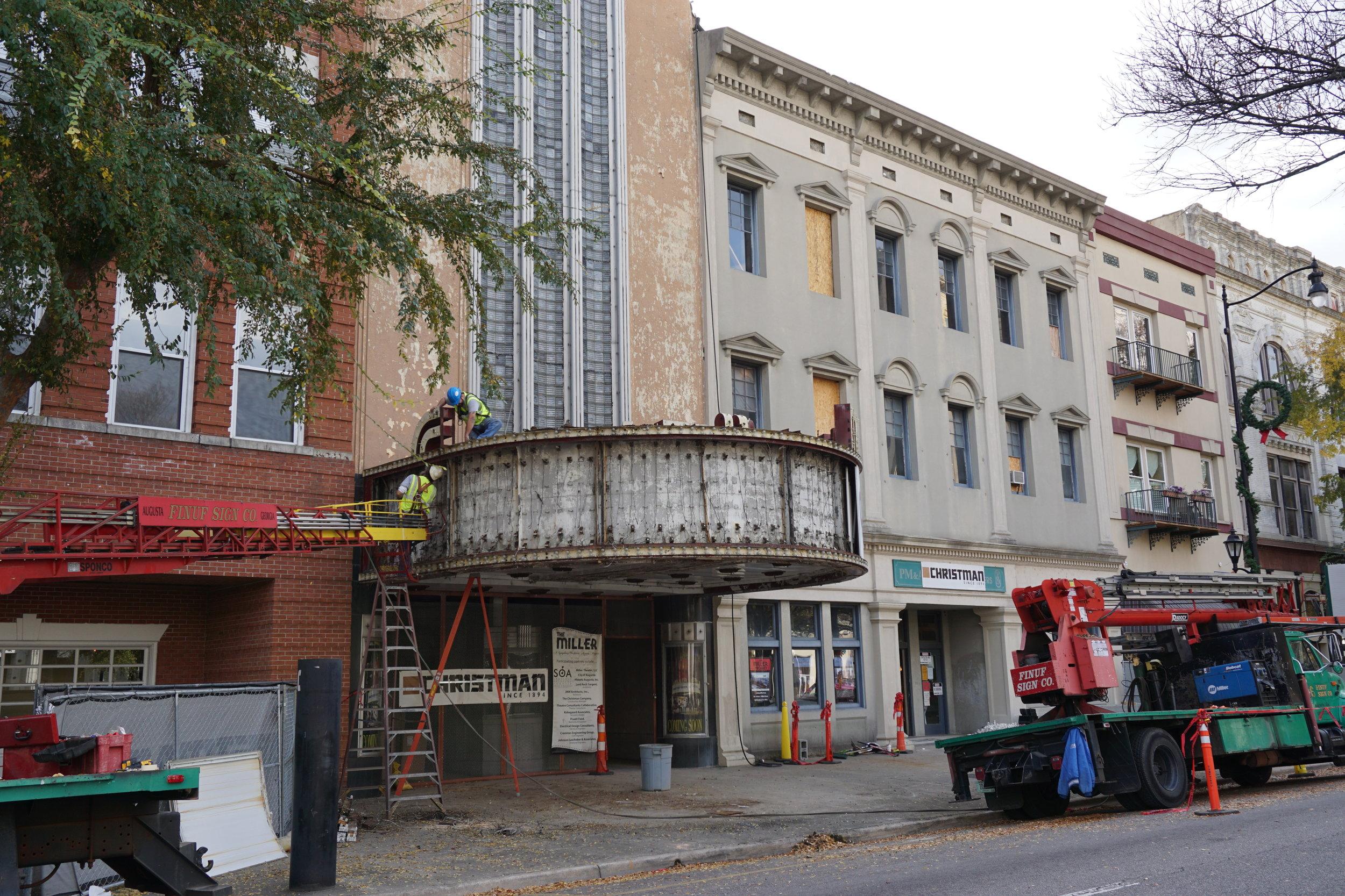 The Miller Theater in Augusta Georgia