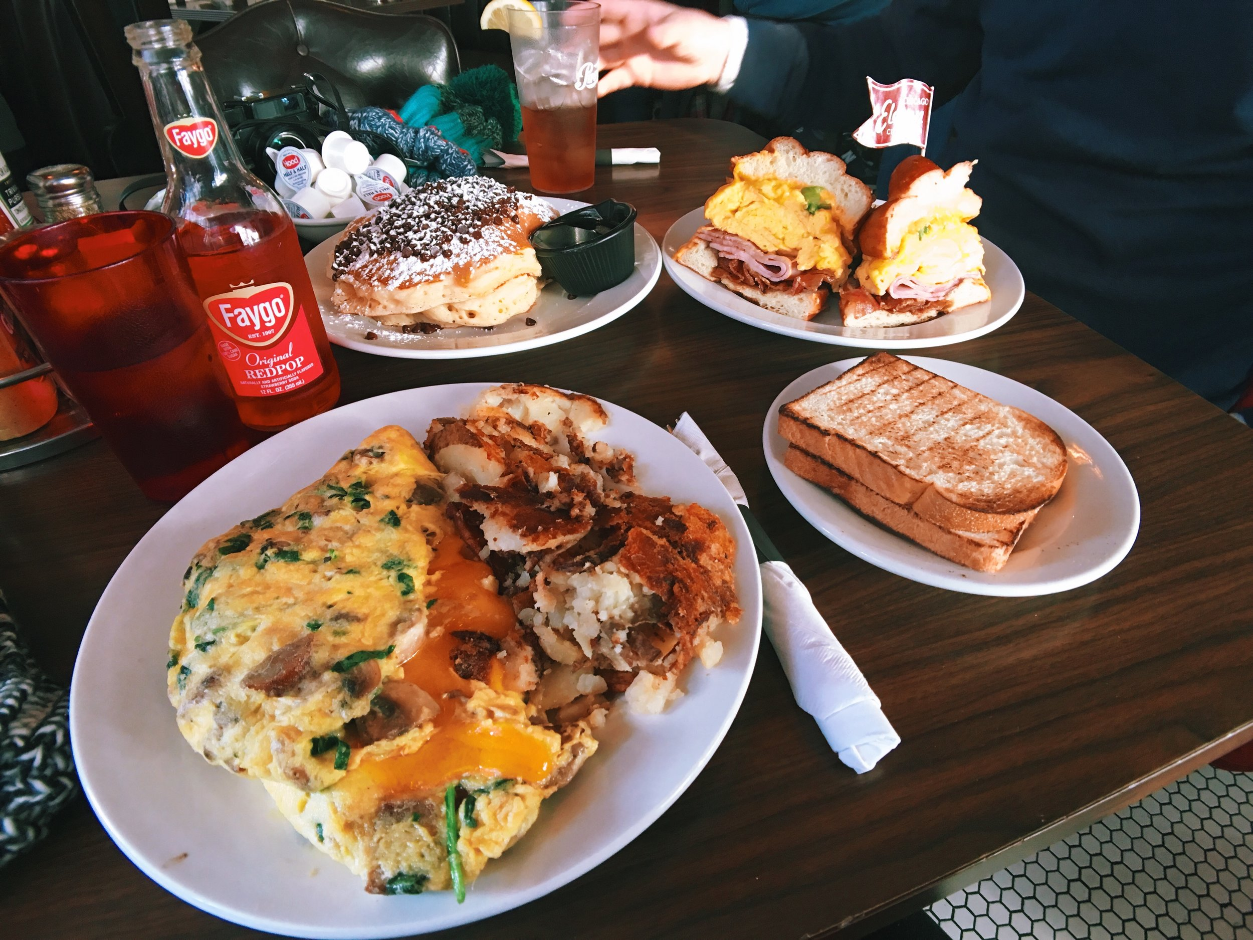 Brunch at Eleven City Diner in Chicago, IL