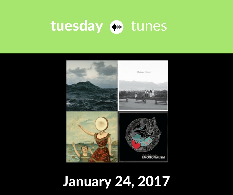 Tuesday Tunes Spotify Playlist January 24 2017