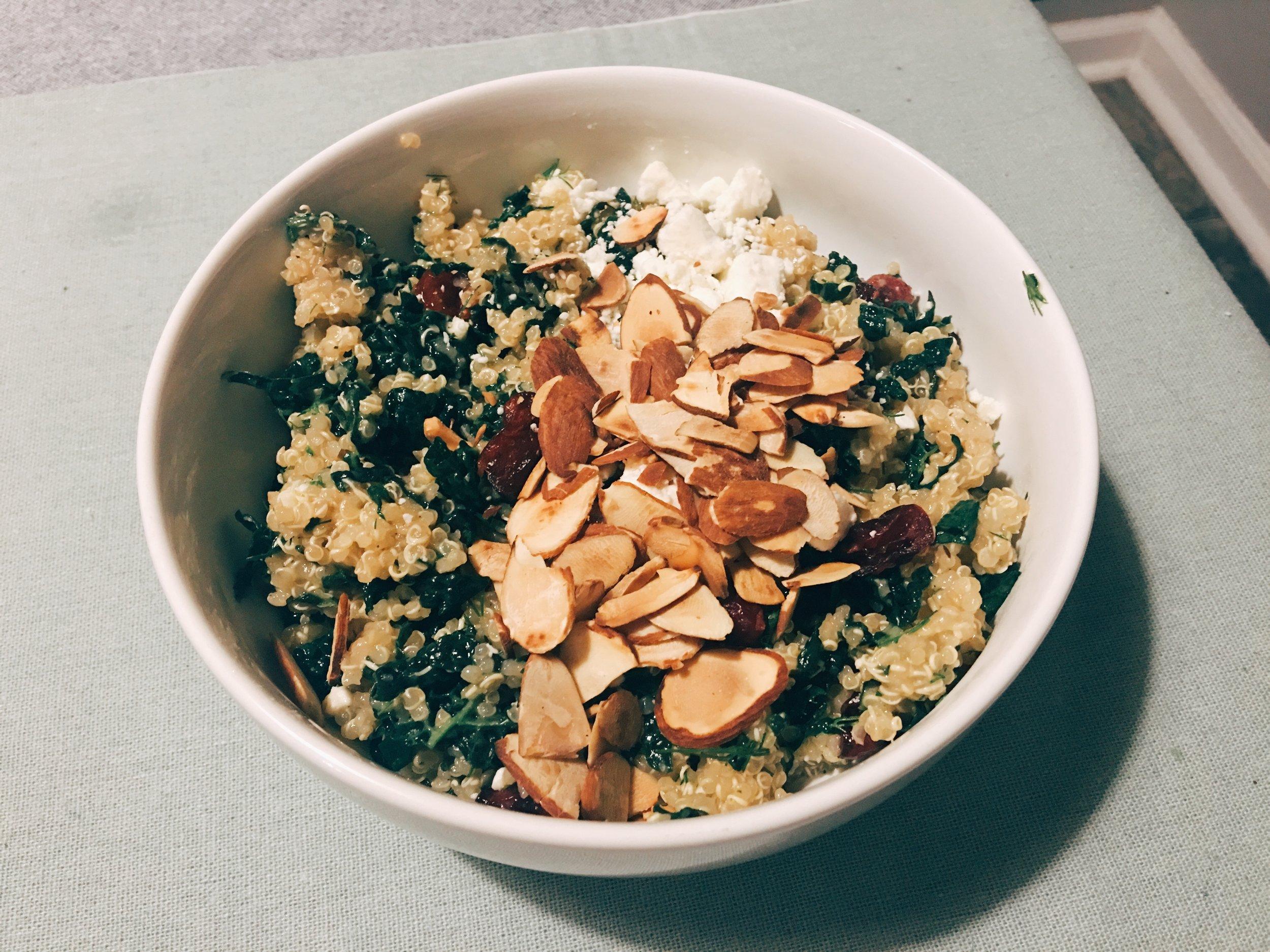 Hello Fresh Power Up Quinoa Bowl