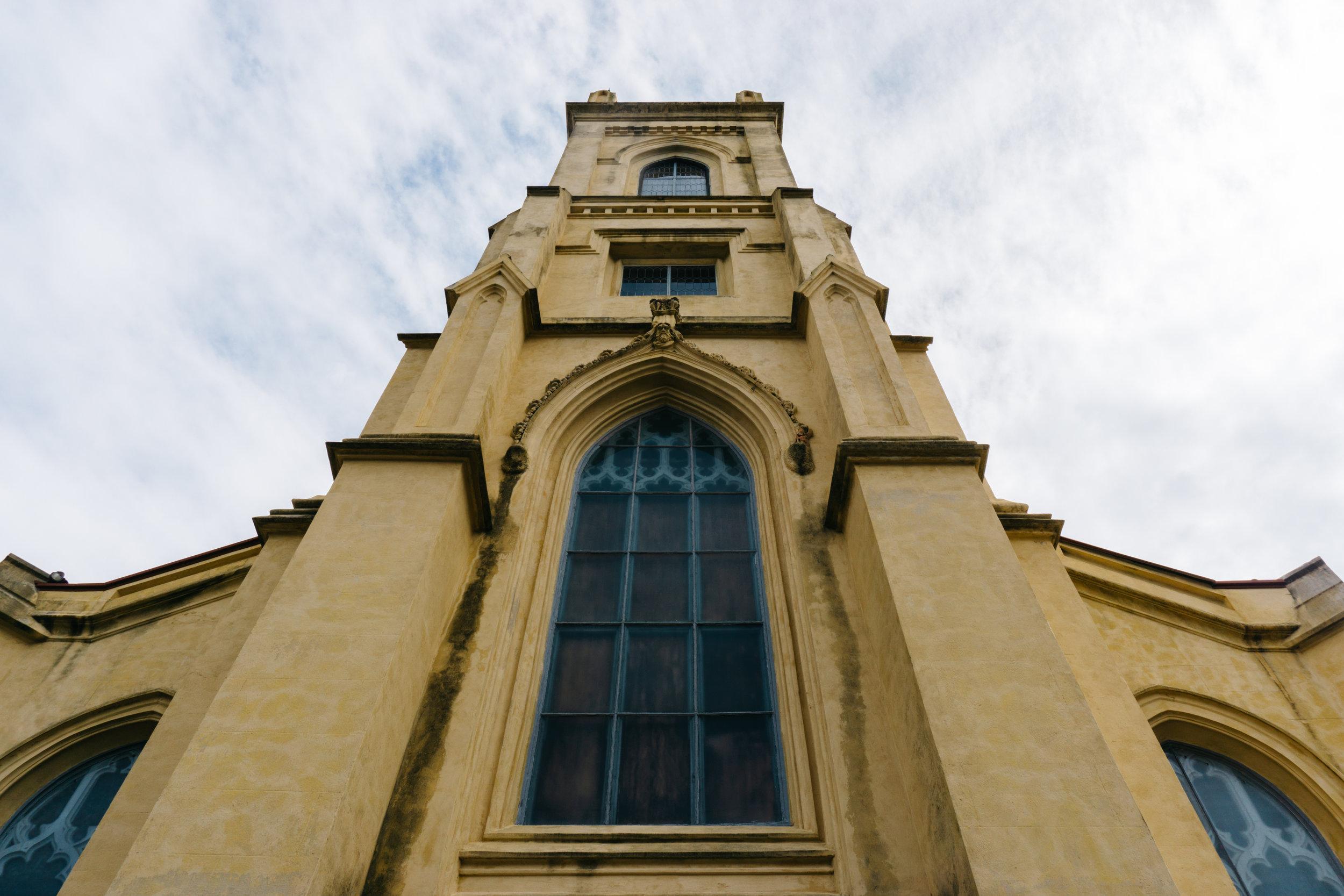 Unitarian Church of Charleston Tower