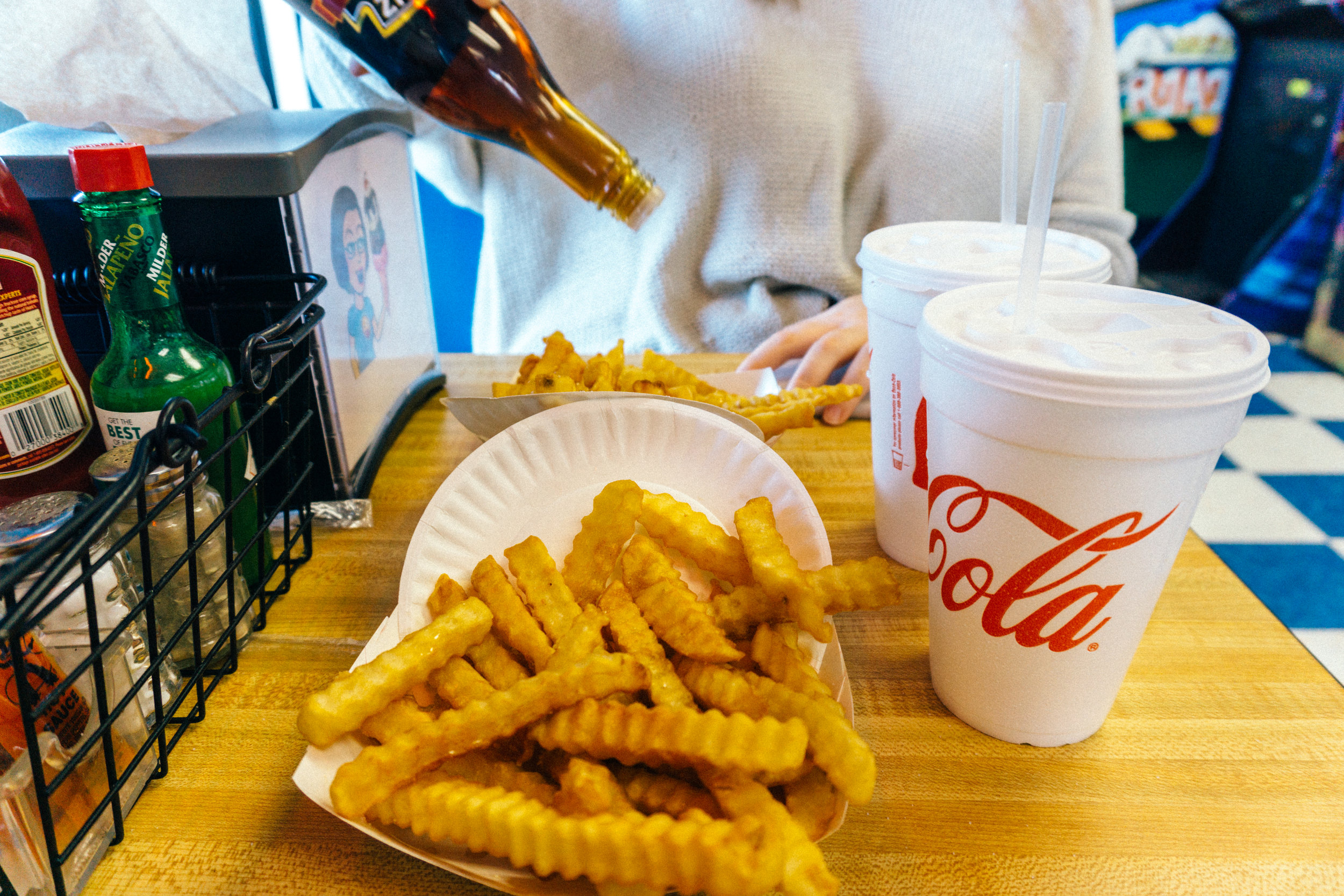 Ye Old Fashioned Fries with Malt Vinegar