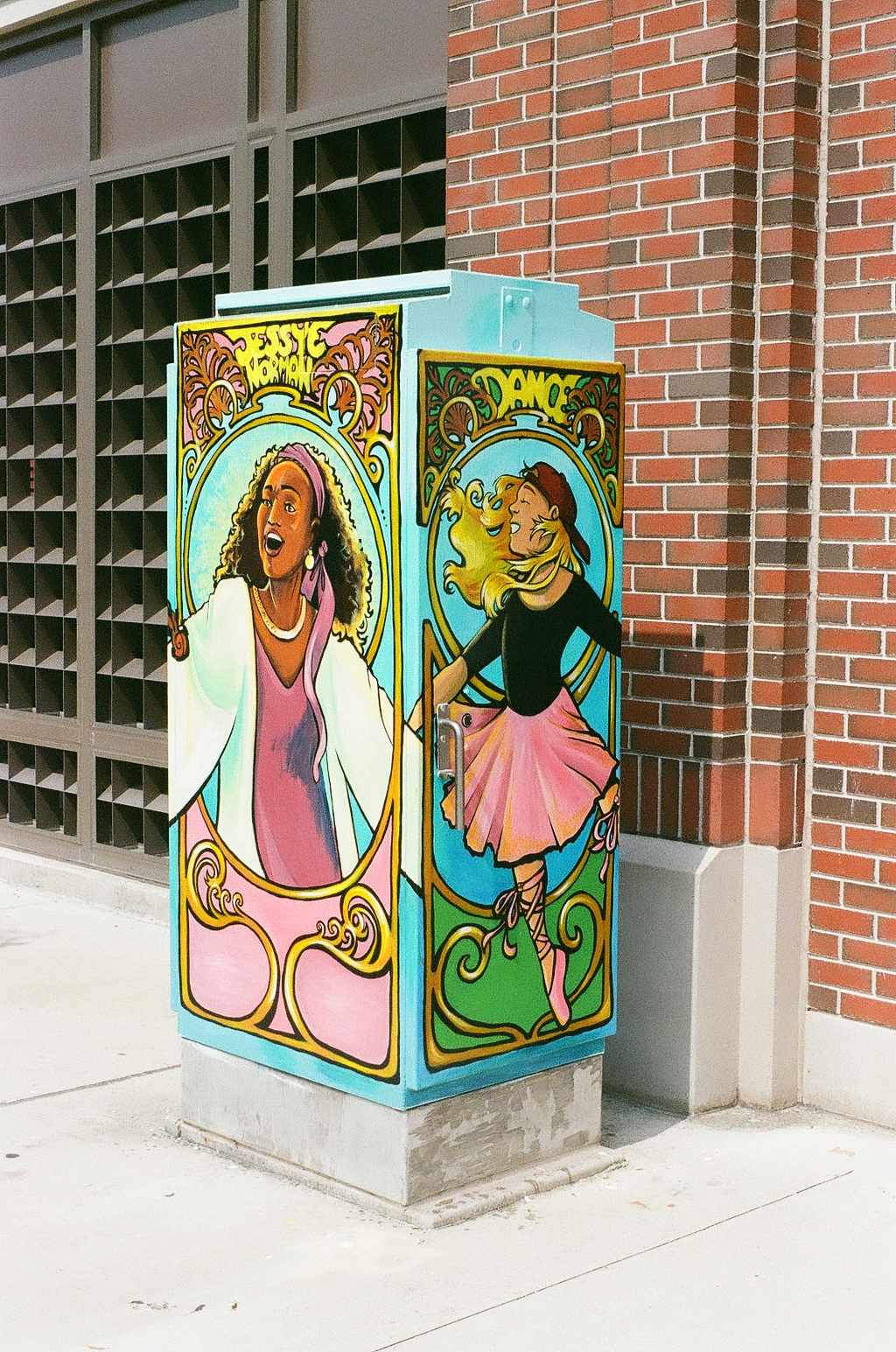 Jessye Norman Art the Box in Downtown Augusta Georgia