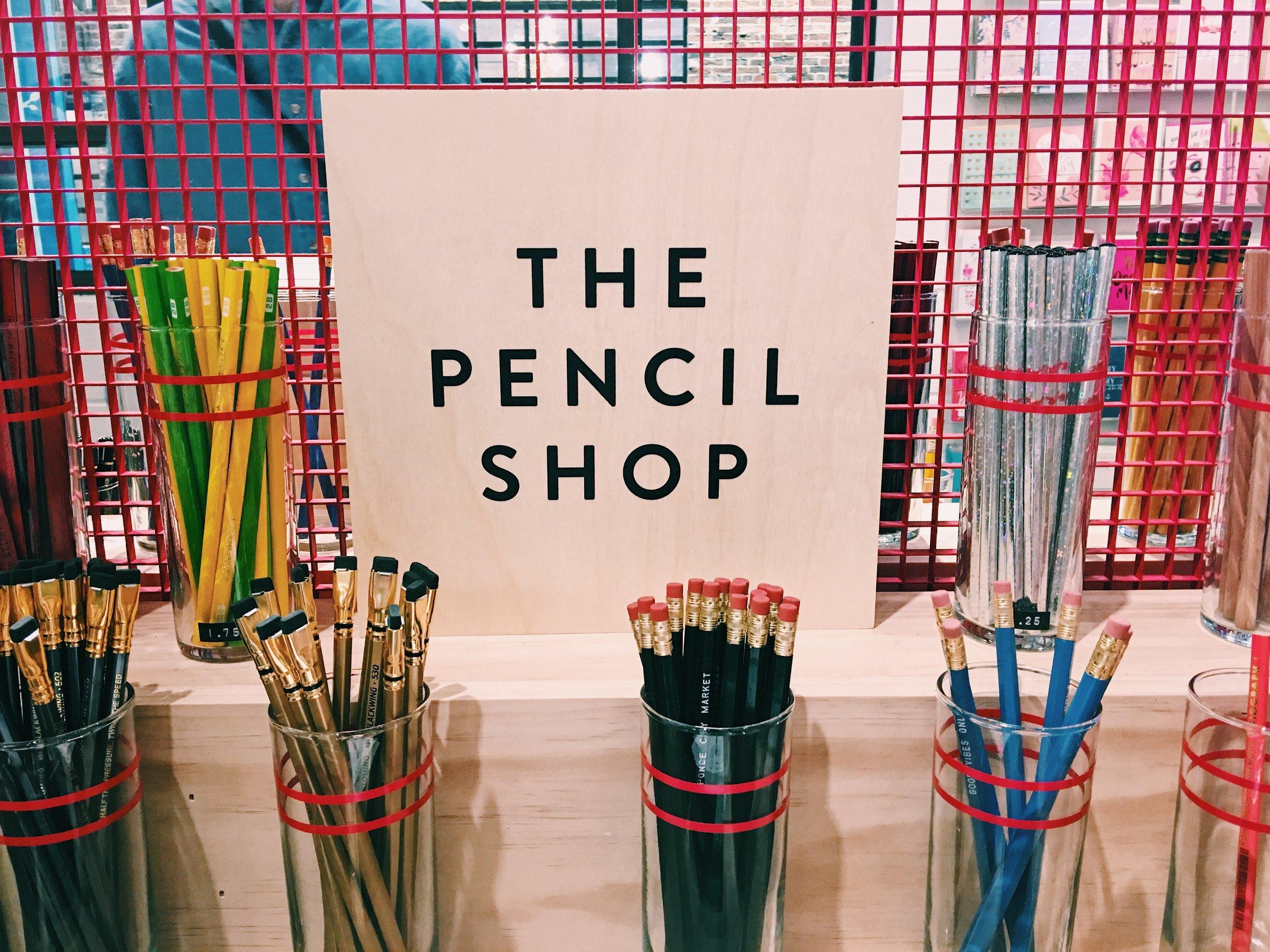 The Pencil Shop at Archer paper