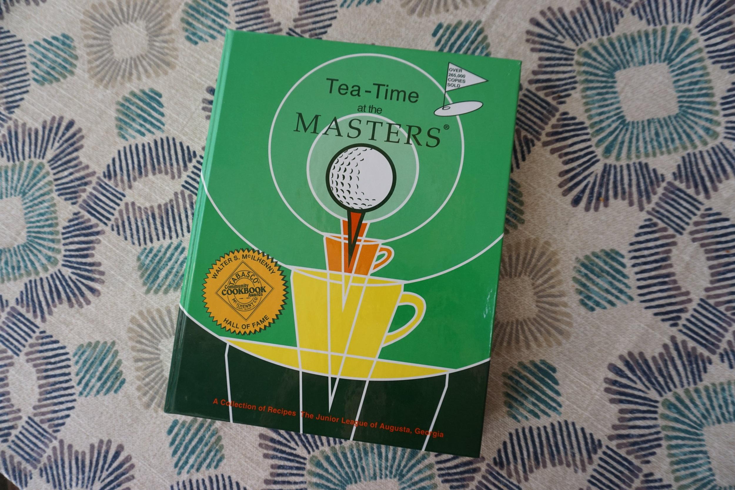 Tea Time at the Masters JLA Cookbook