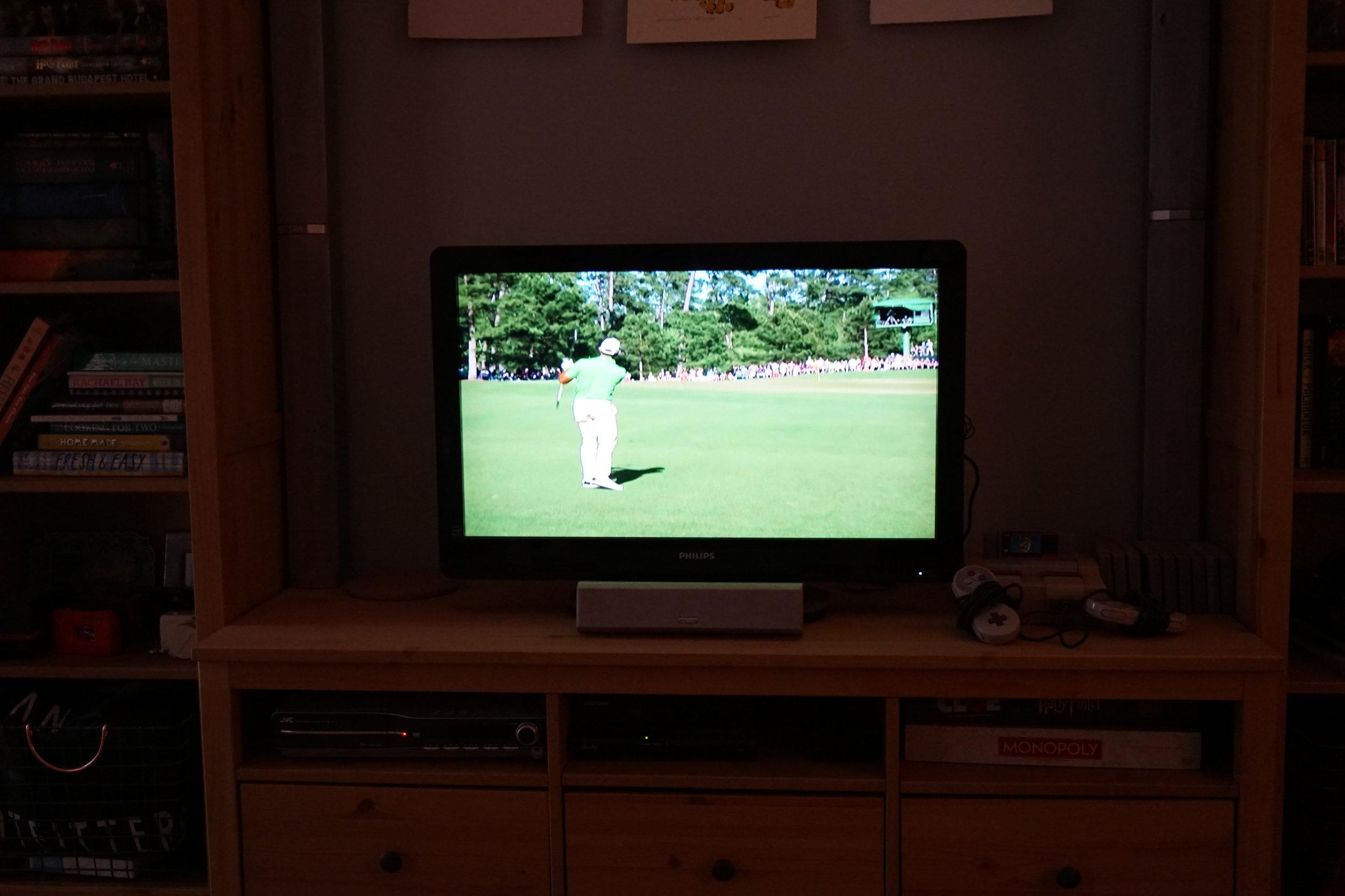 Masters Sunday 2017 on TV