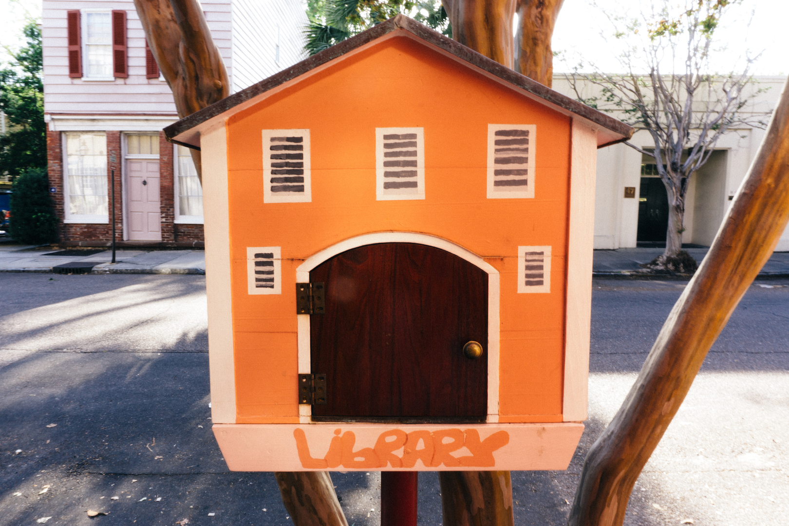 Little free library in Charleston, SC