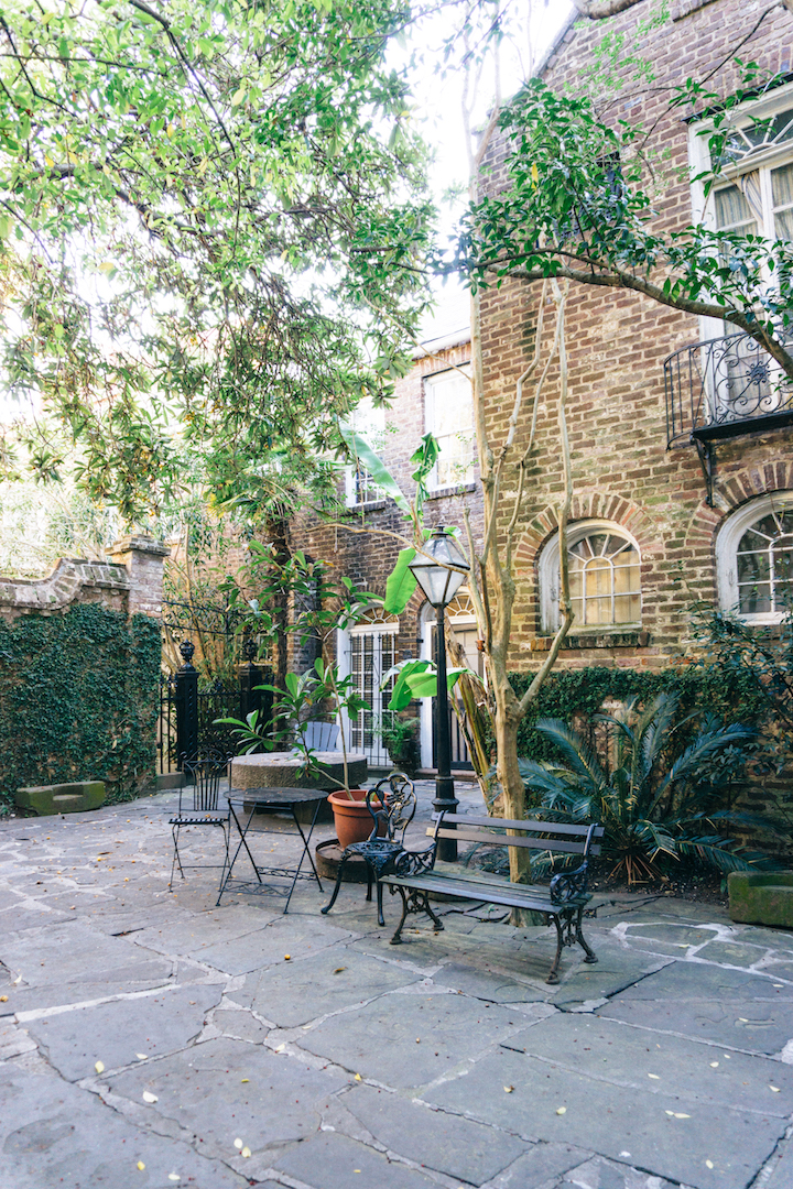 Pirate's Courtyard in Charleston, SC