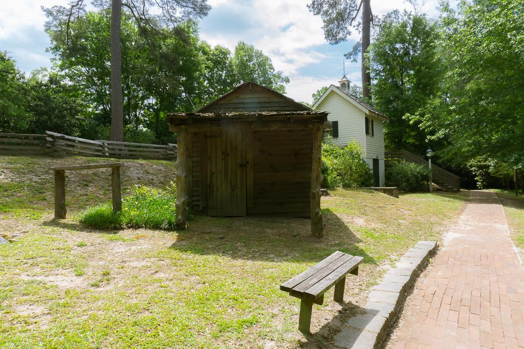 Living History Park freedmans house