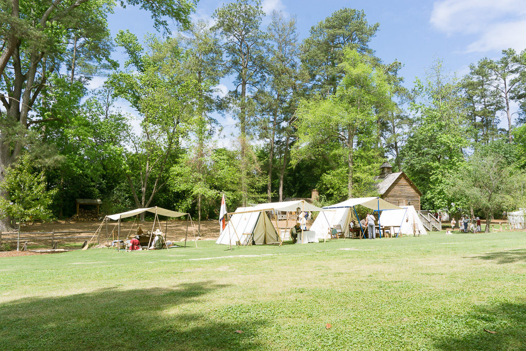Tents at Colonial Times