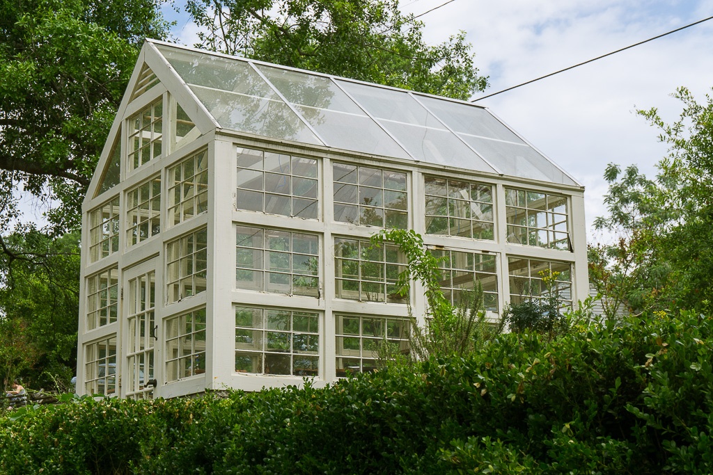 Greenhouse at the Living History Park