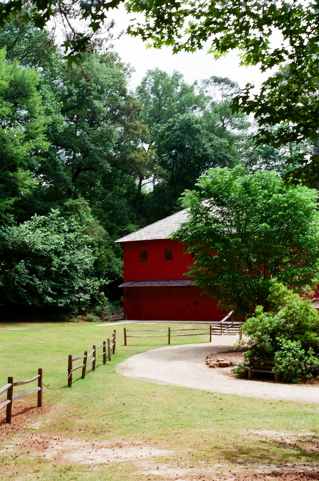 The Barn at the Living History Park in North Augusta, SC