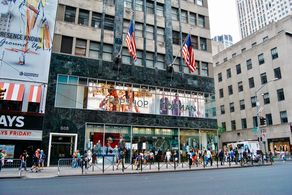 Topshop NYC 5th Ave