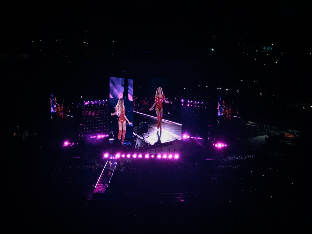 Beyonce at CitiField in NYC