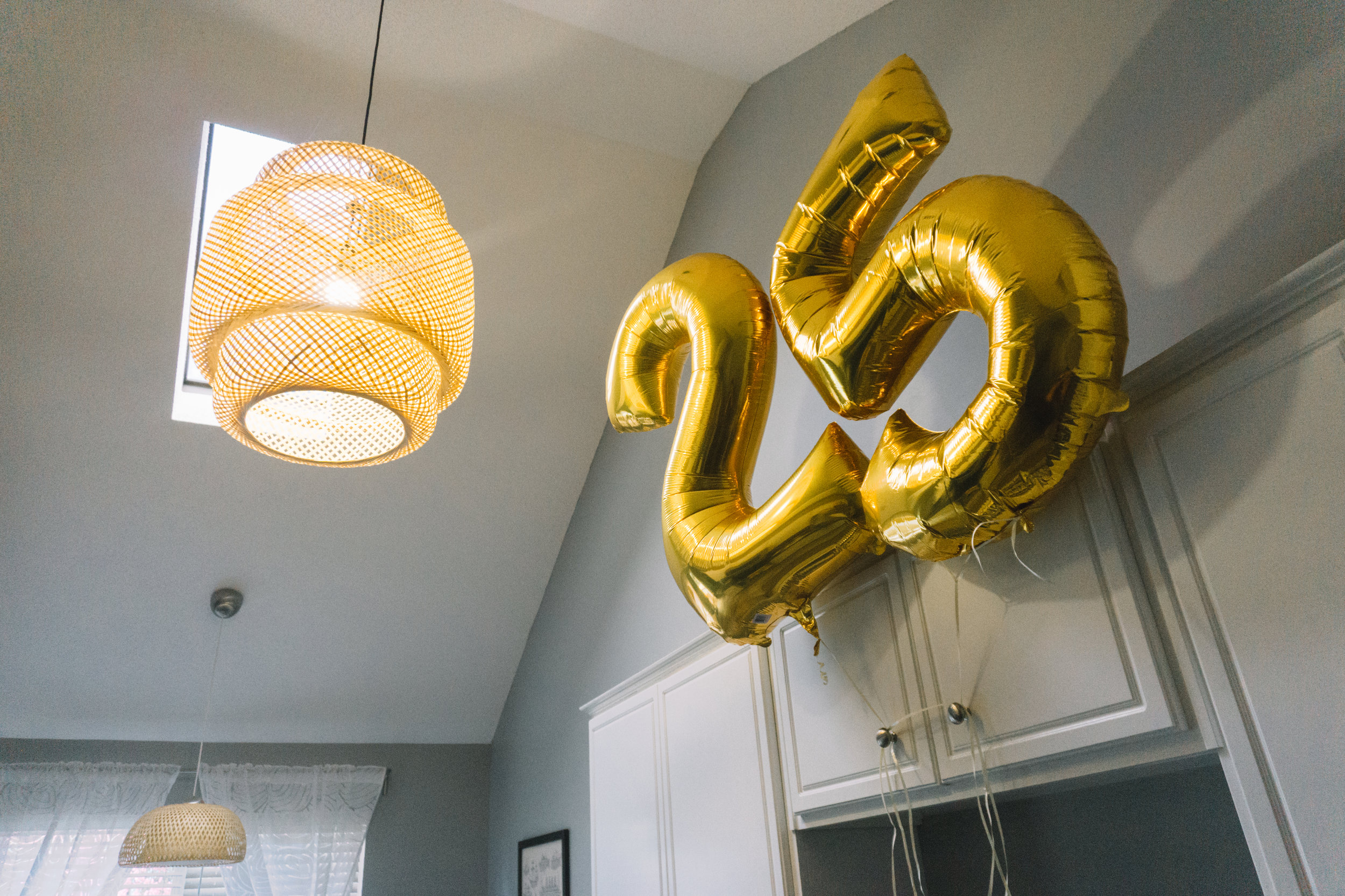 Giant Number Birthday Balloons