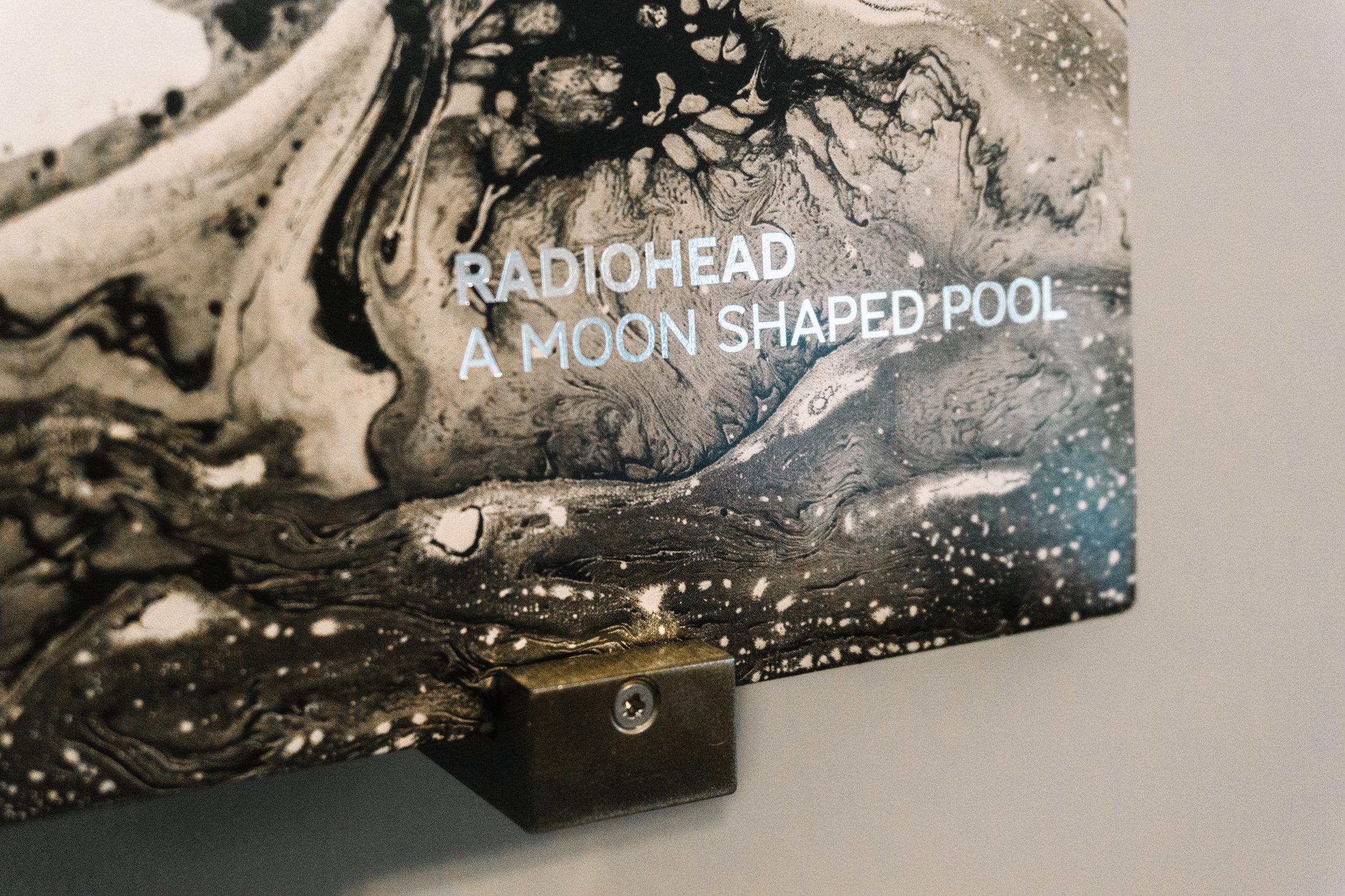 Radiohead A Moon Shaped Pool Album cover foil