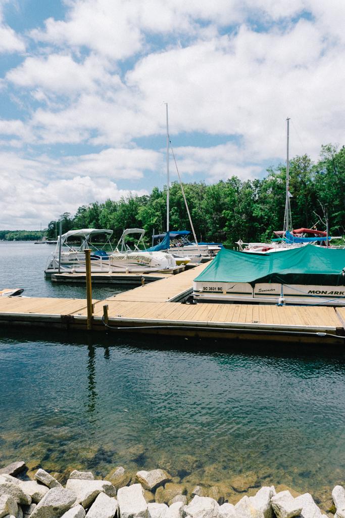 Boats on Lake Murray, SC