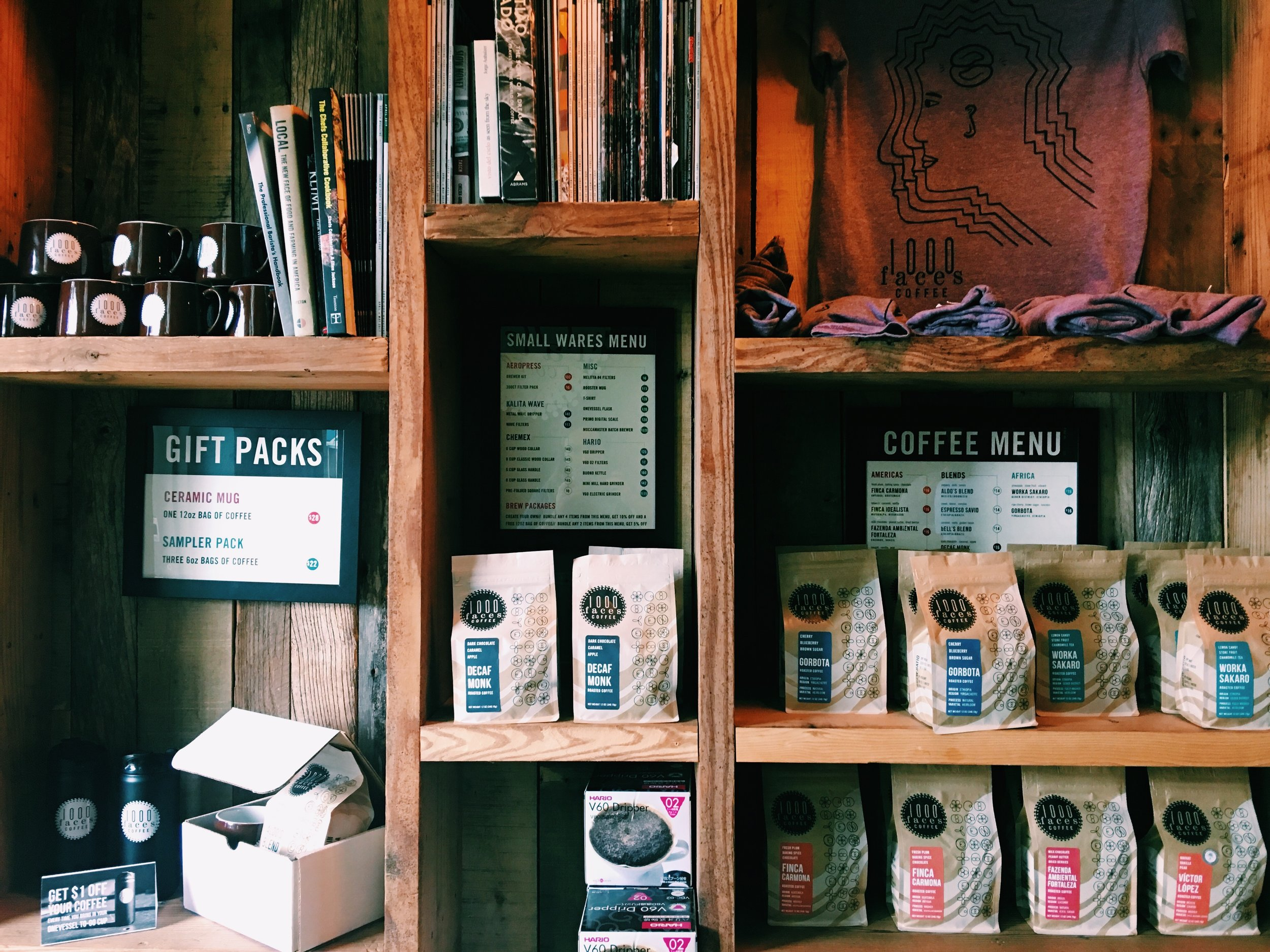 1000 Faces Coffee Athens GA