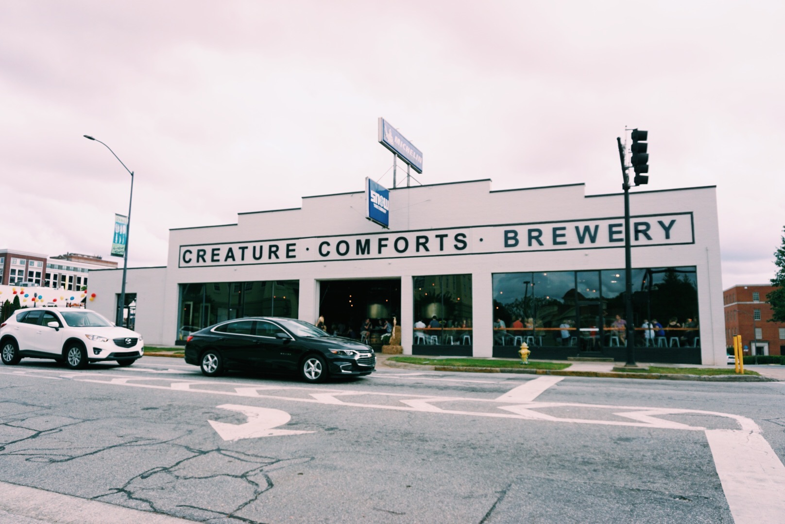 Creature Comforts brewery in downtown Athens, GA