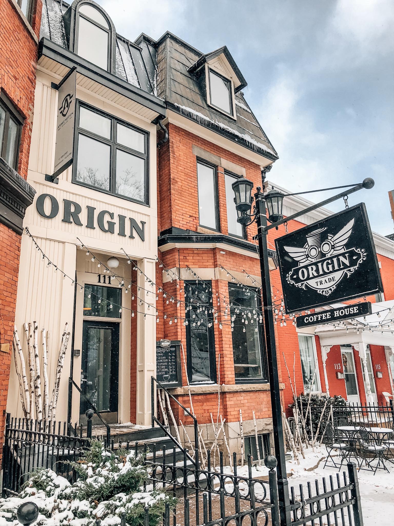 Origin Trade Co. Coffee in Ottawa, ON