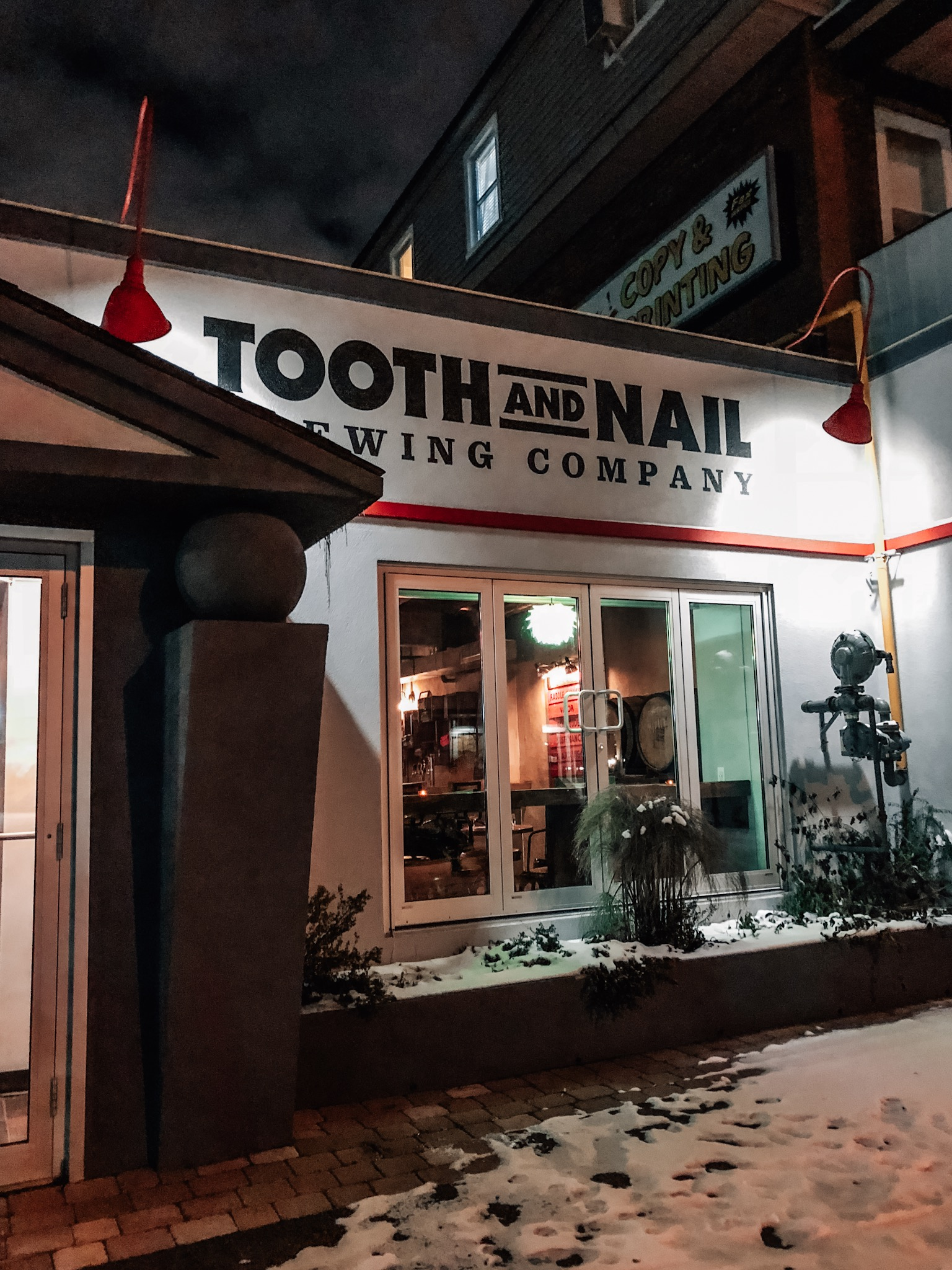 Tooth and Nail Brewing Company in Ottawa, ON